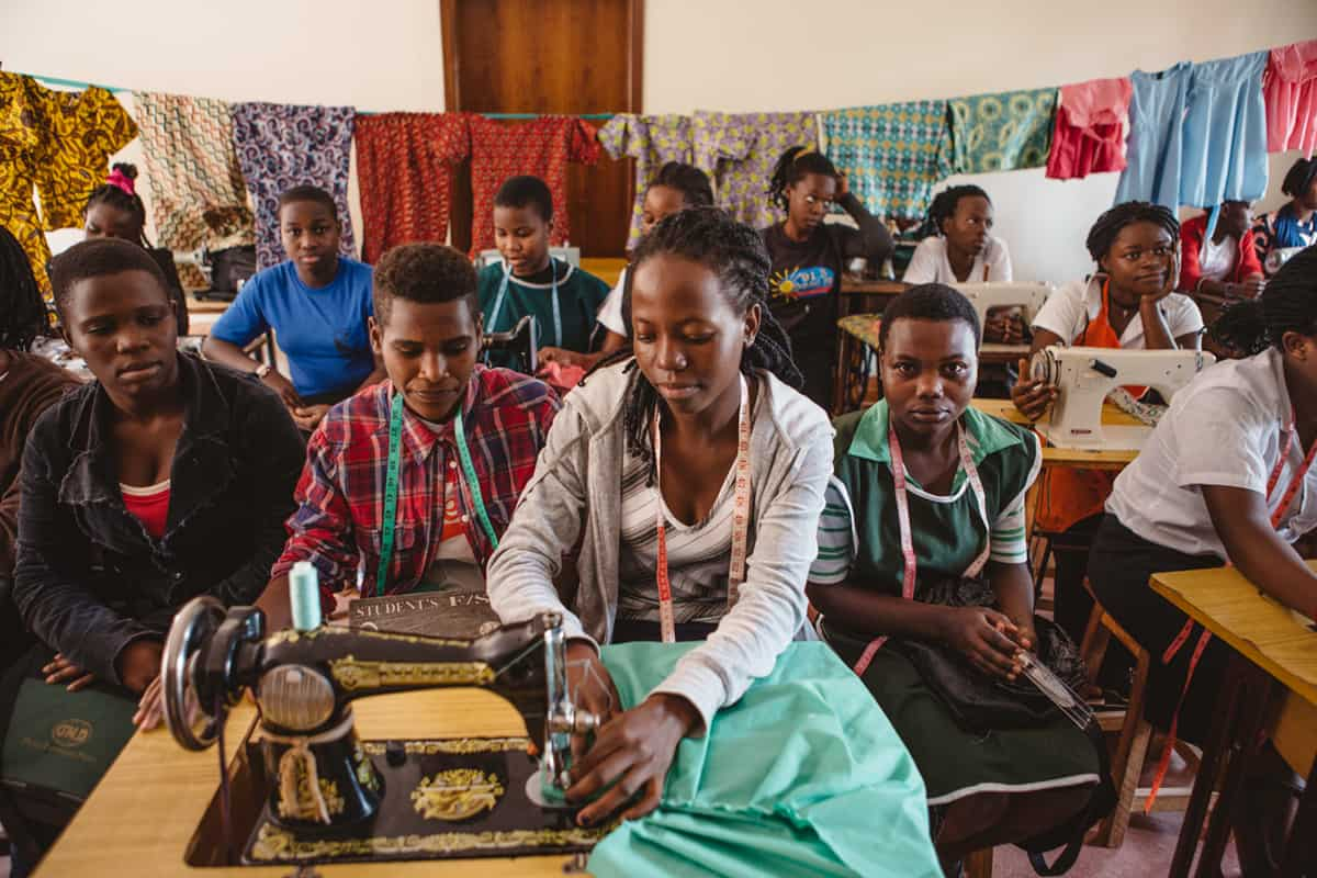 Seamstress Training - Hope for Hearts Uganda